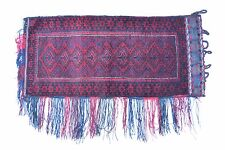 Alte afghanische Nomaden Tasche Sitz-Kissen Wolle TOP!
