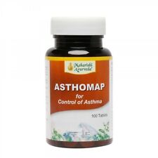 Maharishi Ayurveda Asthomap Asthma,Chronic Bronchitis,Chronic cough 100 tablet