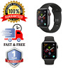 Apple Watch Series 4 -44mm || Space Grey Cellular || Black Sports Band || NO ECG
