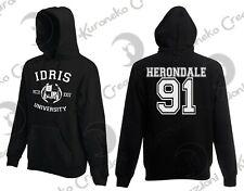 Felpa Hoodie Idris University Shadowhunters Jace Herondale 91 Dominic Sherwood