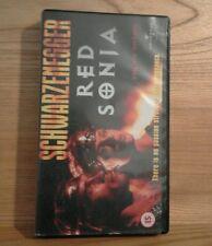 vhs video RED SONJA Arnold Schwarzenegger Brigitte Nielson. 2000 (1986). Sonia