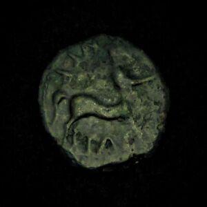 Iron Age Britain Celtic Catuvellauni Bronze Unit.