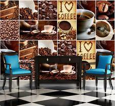 Fototapeten Fototapete Tapete Trinken Kaffebohnen Kaffee Tasse Küche 3FX10449P4