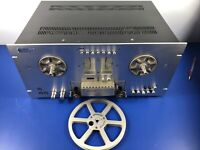 PIONEER RT-707 REEL TO REEL TAPE PLAYER RECORDER Direct Drive Works Perfectly!!