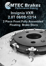 MTEC Insignia 2.8 VXR Front Brake Discs Rotors Floating Type 2009-2014 UK Made