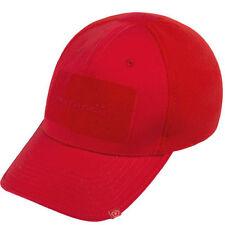 Gorras y sombreros de hombre en color principal rojo 100% algodón talla única