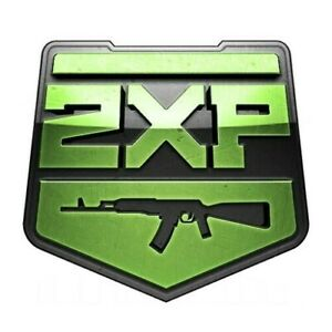 Cold War / Warzone Double Weapon XP Codes (x4 15 minutes 1 hour total)