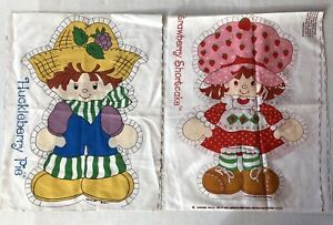 Strawberry Shortcake Huckleberry Pie Fabric Panel Doll Pillow Springs Cut & Sew