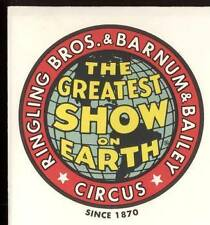 Ringling Brothers and Barnum & Bailey Circus Posters (Sc. 4898 - 4905)