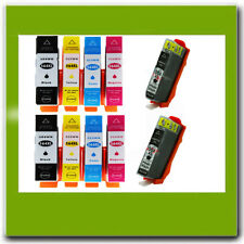 10PK Compatible HP 564XL Ink Cartridge Combo Set BK/C/M/PBK Photosmart 7510 7515
