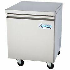 27 Commercial 1 Door 55 Cu Ft Stainless Steel Undercounter Refrigerator