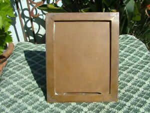 ANTIQUE TIFFANY & CO. MAKERS INLAID BRONZE ARTS & CRAFTS  PICTURE FRAME
