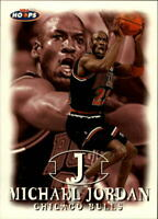 1998-99 NBA Hoops Basketball #23 Michael Jordan Chicago Bulls