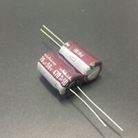 20pcs 470uF 50V470UF 12.5x20mm Nichicon PW Low Impedance Long Life Capacitor