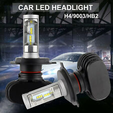 Car H4 50W 8000LM HI-LO Beam COB LED Headlight Bulbs Lamp HB2 9003 NIGHTEYE