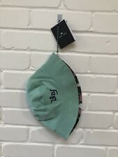Lazy Oaf Floral Bucket Hat Reversible Hat Summer Hat BNWT