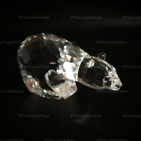 RARE Retired Swarovski Crystal Polar Bear 013747 Mint Boxed