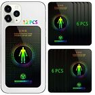Protection Sticker for Cell Phone, Anti-R adiation Protection (Black-12P)