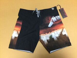 Billabong Metallica Masters of Puppets Board Shorts/Swim Size 33 - NWT