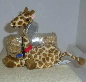 Riff Raff Giraffe Somalia beanie International Coca Cola Coke tag protector