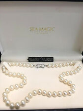 Stunning Sea Magic Culturted Pearl Necklace by MIKIMOTO 6X5.5MM NWT Designer