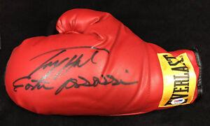 Larry Holmes SIGNED Everlast Boxing Glove + Easton Assissin  PSA/DNA Autographed
