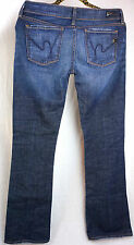 Citizens Of Humanity Womens Jeans Size 29 x 32 Boot Cut Low Rise Dark Wash Pants