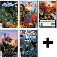 BATMAN/SUPERMAN #1,2,3,4++ COMIC BOOKS ~ Regular, Variant, Exclusive ~ DC Comics