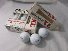 Lot of 4 Packs of 3 Vintage Spalding Top-flite XL Extra Loft and High Trajectory