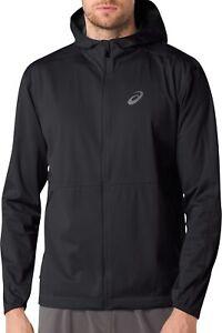 Asics Accelerate Mens Running Jacket - Black