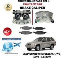 pour Jeep Grand Cherokee WJ WG 1998-2004 ATE Côté GAUCHE ÉTRIER DE FREIN AVANT +