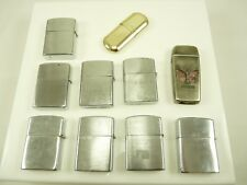Mixed Lot of Vintage Lighters Marxman Imperial Marlboro Butane & Fuel