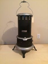 Antique Vintage BOSS No. 8 Black Kerosene Oil Heater Stove