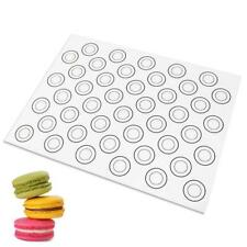 Silicone Dough Mat Macaron Cake Mold Pad 40X30cm Pastry Baking Tray LinerMat