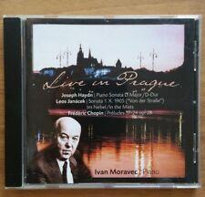 Ivan Moravec - Live in Prague - Haydn, Janacek,Chopin (Audio CD, 2001)