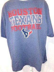 Houston Texans Football Short Sleeve T-Shirt Navy New
