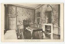 Leeds - The Blue Drawing Room, Temple Newsam - Vintage postcard