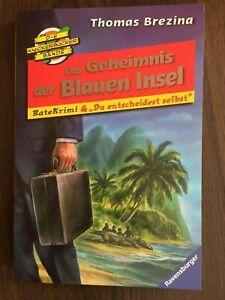 Das Geheimnis der Blauen Insel von Thomas Brezina- Ravensburger-UNGELESEN!