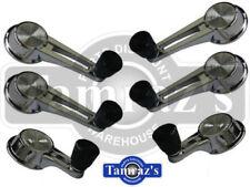 61-64 Impala Window & Vent Crank Handle Set Black Knob