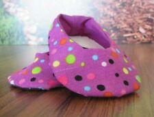 "handmade plain jane shoes polka dot Doll Clothes for 18"" American Girl/ 18"" doll"