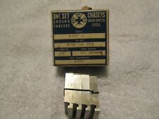 "Geometric chasers HSS ground thread 1 1/2"" S style, 3 1/4"" - 16 NS  15 degrees"