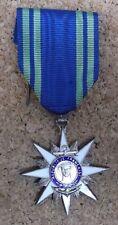 Médaille - Croix de Chevalier de l'Ordre du Mérite Maritime Ordonnance