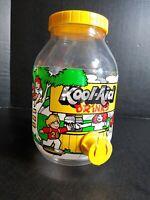 "1983 Kool-Aid Pitcher Dispenser 10"" Tall Vintage Kool-Aid Man"