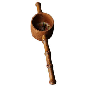 Bamboo Tea Leaf Strainer Handmade Heat-resistant Home Kitchen Tea Tools #4