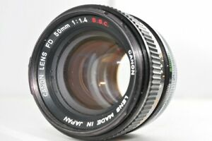 Canon 50mm F1.4 1.4 S.S.C. ssc FD MF Standard Prime lens used Fro Jp poi 1427440