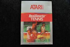 Realsports Tennis Boxed Atari 2600