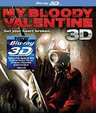 My Bloody Valentine BLU RAY 3D + BLU RAY VERSION NEW! HALLOWEEN, HORROR, SCARY