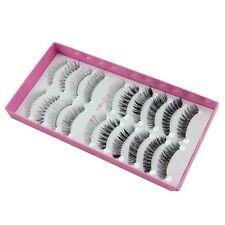 New Popular ZH-2 10 pairs different style False eyelashes set daily eye lashes