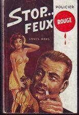 SEG  ESPIONAGE 83   STOP... FEUX ROUGE   LOUIS DORS
