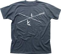 Crossroads Blues T-Shirt Robert Johnson Clapton Vai Satriani grey t-shirt OZ9158